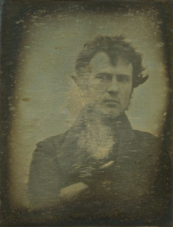 Robert Cornelius' Self-Portrait: The First Ever 'Selfie' (1839)